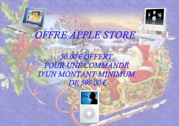 Publicité AppleStore